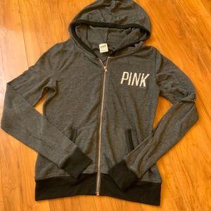 VS PINK Gray Hoodie